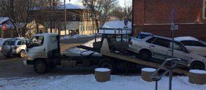 Эвакуатор со сдвижной платформой в Пересвете, Скоропусковском