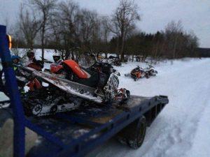 Перевозка снегохода в Хотьково